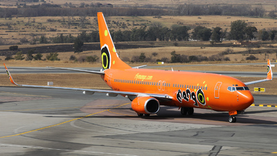ZS-SJM - Boeing 737-85F - Mango Airlines