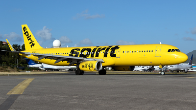 A picture of N671NK - Airbus A321231 - Spirit Airlines - © William Vignes