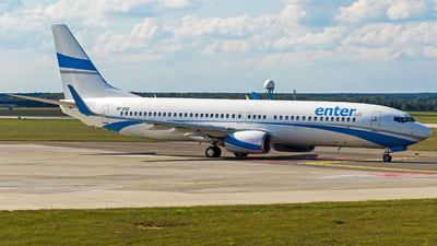 A picture of SPENZ - Boeing 73785F - Enter Air - © Krzysiek Dz