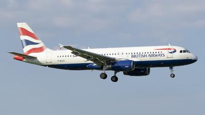 G-EUUJ - Airbus A320-232 - British Airways