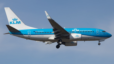 A picture of PHBGK - Boeing 7377K2 - KLM - © Guillem Rubio