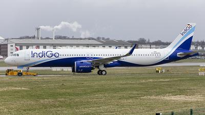 D-AVXQ - Airbus A321-271NX - IndiGo Airlines