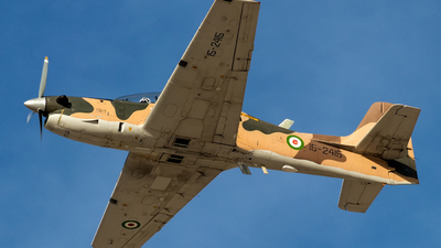 15-2415 - Embraer T-27 Tucano - Iran - Revolutionary Guard
