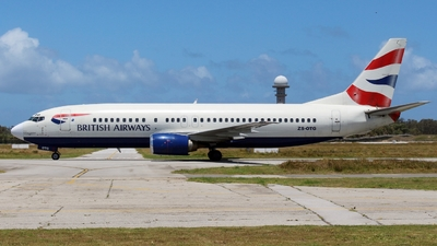 ZS-OTG - Boeing 737-436 - British Airways