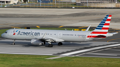 N144AN - Airbus A321-231 - American Airlines