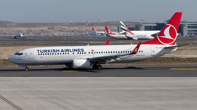 A picture of TCJVT - Boeing 7378F2 - Turkish Airlines - © Mustafa Sandikci
