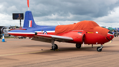A picture of GBKOU - Hunting P84 Jet Provost T3 - [PAC/W/13901] - © Andras Regos