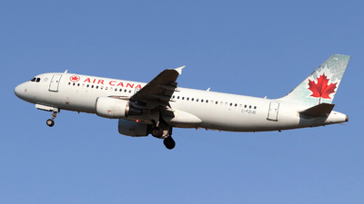 A picture of CFZUB - Airbus A320214 - Air Canada - © Guy Langlois