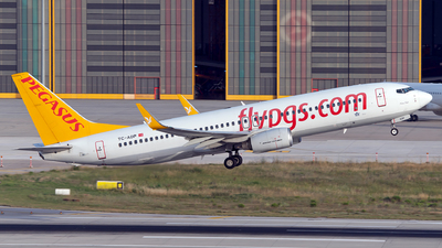 A picture of TCADP - Boeing 73782R - Pegasus Airlines - © Turkay Oksuz