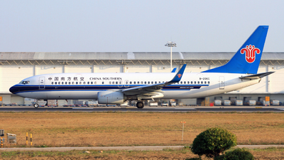 A picture of B206C - Boeing 73781B - China Southern Airlines - © Egg_Shadowsine Aviation