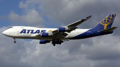 A picture of N493MC - Boeing 74747U(F) - Atlas Air - © Kris Van Craenenbroeck