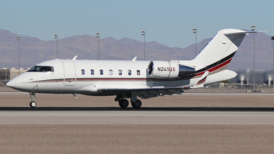 N241QS - Bombardier CL-600-2B16 Challenger 650 - NetJets Aviation