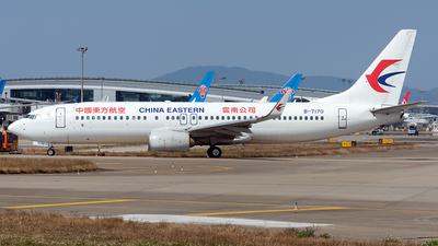 A picture of B7170 - Boeing 73789P - China Eastern Airlines - © ZGGG RWY01