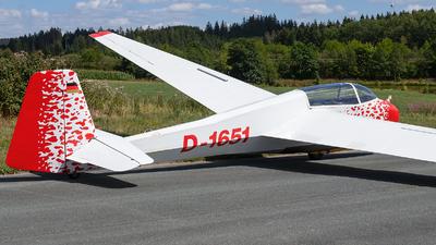 D-1651 - Scheibe Bergfalke III - Segelflugzentrum Ottengrüner Heide