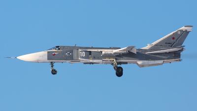 RF-34002 - Sukhoi Su-24M Fencer D - Russia - Navy