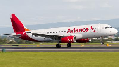 N498TA - Airbus A320-233 - Avianca