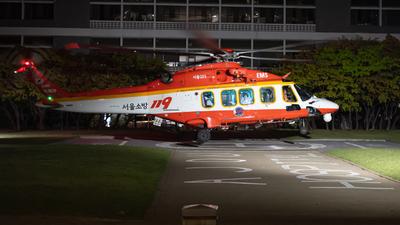 HL9639 - Agusta-Westland AW-189 - South Korea - Seoul fire department