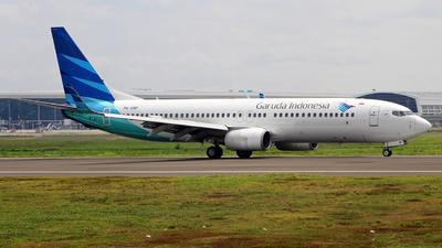 A picture of PKGMF - Boeing 7378U3 - Garuda Indonesia - © etlspotter
