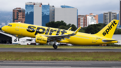 A picture of N912NK - Airbus A320271N - Spirit Airlines - © Brian Boche