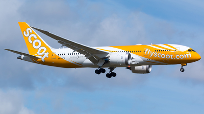 9V-OFJ - Boeing 787-8 Dreamliner - Scoot