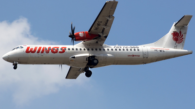 PK-WFG - ATR 72-212A(500) - Wings Air