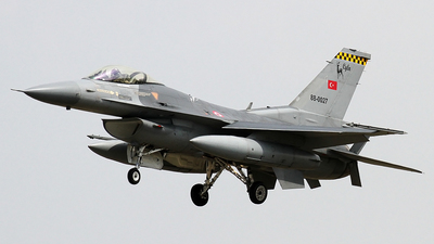 88-0027 - General Dynamics F-16C Fighting Falcon - Turkey - Air Force