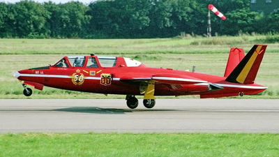 MT-44 - Fouga CM-170R Magister - Belgium - Air Force