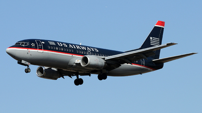 N526AU - Boeing 737-3B7 - US Airways
