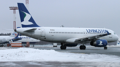 EI-EUA - Airbus A320-232 - Livingston Airlines