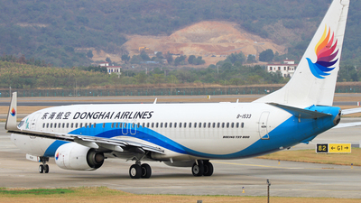 A picture of B1533 - Boeing 73783Z - Donghai Airlines - © Chencun