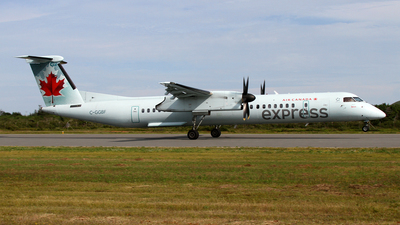 C-GGBF - Bombardier Dash 8-Q402 - Air Canada Express (Jazz Aviation)