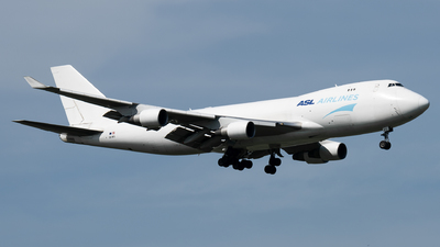 A picture of OEIFD - Boeing 7474B5F(ER) - ASL Airlines Belgium - © TPS00