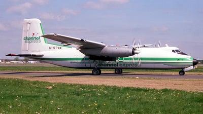 G-STVN - Handley Page Dart Herald 207 - Channel Airways
