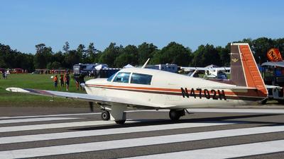 A picture of N4702H - Mooney M20J - [240812] - © Orlando Suarez