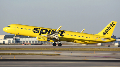 N677NK - Airbus A321-231 - Spirit Airlines