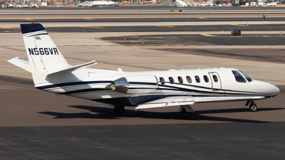 N566VR - Cessna 560 Citation Ultra - Private