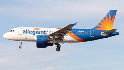 N309NV - Airbus A319-111 - Allegiant Air
