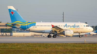 P4-AAE - Airbus A319-111 - Aruba Airlines