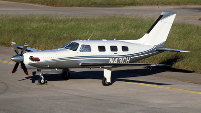 N43CH - Piper PA-46-350P Malibu Mirage/Jetprop DLX - Private