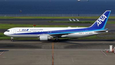 JA605A - Boeing 767-381(ER) - All Nippon Airways (Air Japan)