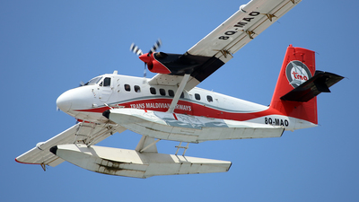 8Q-MAO - De Havilland Canada DHC-6-300 Twin Otter - Maldivian Air Taxi