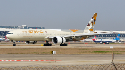 A picture of A6ETF - Boeing 7773FX(ER) - Etihad Airways - © TasKforce404-HK416