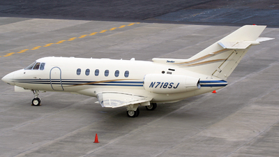 N718SJ - Raytheon Hawker 800XP - Private