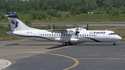 EP-ITF - ATR 72-212A(600) - Iran Air