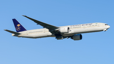 HZ-AK22 - Boeing 777-368ER - Saudi Arabian Airlines