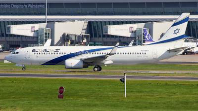 A picture of 4XEKI - Boeing 73786N - El Al - © wroblik75