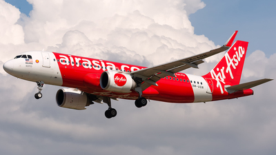 A picture of 9MAGN - Airbus A320251N - AirAsia - © Hoo Jiong Sheng