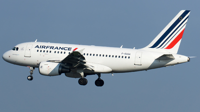 A picture of FGUGA - Airbus A318111 - Air France - © Olivier Landes