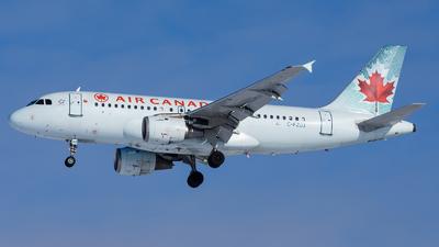 C-FZUJ - Airbus A319-114 - Air Canada