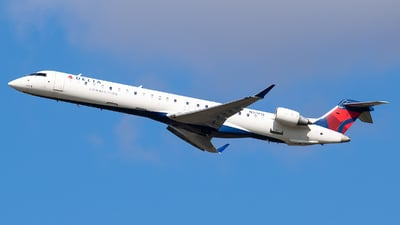 A picture of N311PQ - Mitsubishi CRJ900LR - Delta Air Lines - © Evan Dougherty